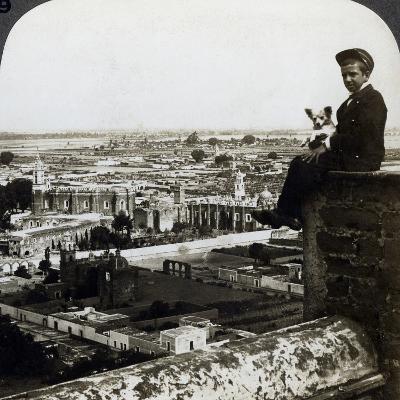 View of Cholula, Mexico-Underwood & Underwood-Photographic Print