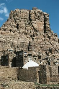 View of City and Buildings of Thula, Yemen