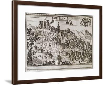 View of City of Moliterno--Framed Giclee Print