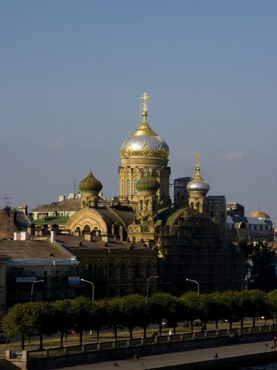 View of City, St. Petersburg, Russia-Nancy & Steve Ross-Photographic Print