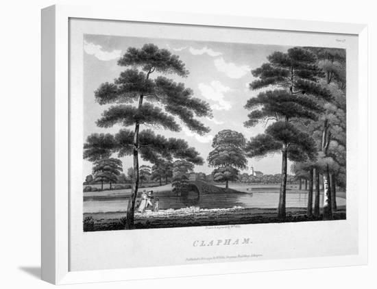 View of Clapham, London, 1792-William Ellis-Framed Premier Image Canvas