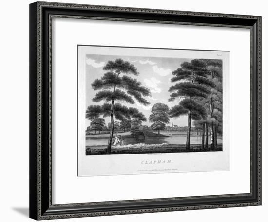 View of Clapham, London, 1792-William Ellis-Framed Giclee Print