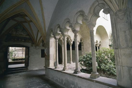 View of Cloister of Dominican Church--Giclee Print