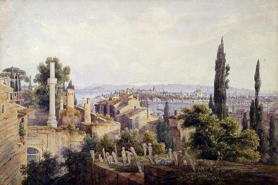 View of Constantinople and the Golden Horn, 1835-Johann Jakob Wolfensberger-Giclee Print