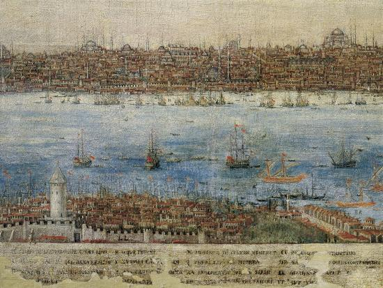 View of Constantinople--Giclee Print