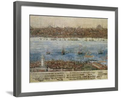View of Constantinople--Framed Giclee Print