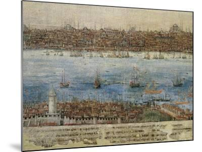 View of Constantinople--Mounted Giclee Print