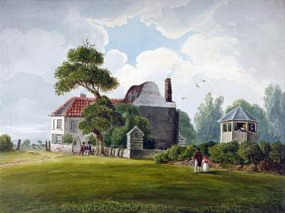 View of Copenhagen House and Gardens, Copenhagen Fields, Islington, London, 1815--Giclee Print