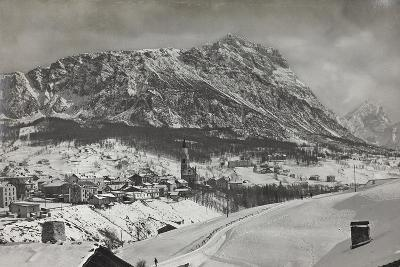 View of Cortina D Ampezzo--Photographic Print