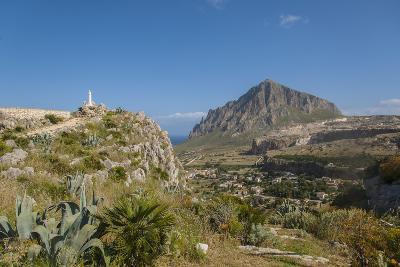 View of Custonaci and Monte Cofano-Guido Cozzi-Photographic Print