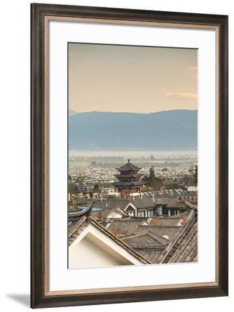 View of Dali, Yunnan, China-Ian Trower-Framed Photographic Print