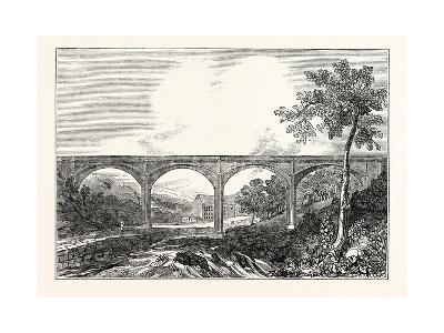 View of Dean Bridge Edinburgh--Giclee Print