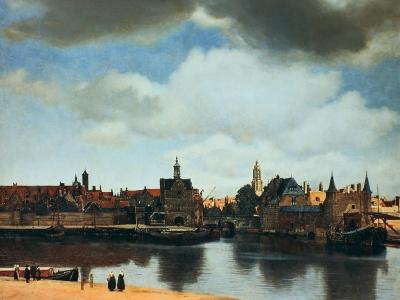 View of Delft, Netherlands, after the Fire, C1658-Johannes Vermeer-Premium Giclee Print