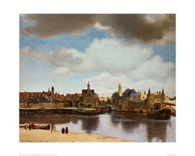 View of Delft-Johannes Vermeer-Giclee Print