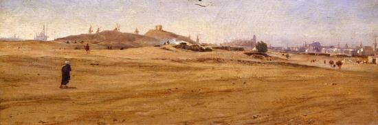 View of Desert with Dunes-Stefano Ussi-Giclee Print
