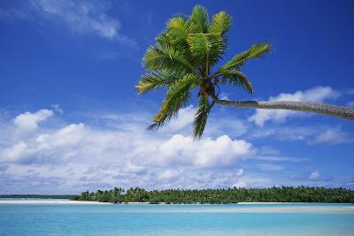 View of Deserted Beach from Tapuae Tai Island-Design Pics Inc-Photographic Print