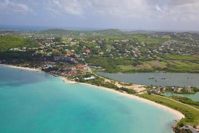View of Dickinson Bay and Beach, Antigua, Leeward Islands, West Indies, Caribbean, Central America-Frank Fell-Photographic Print
