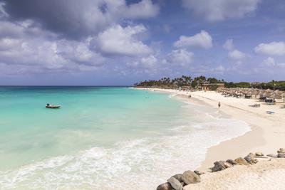 View of Divi Beach, Aruba, Lesser Antilles, Netherlands Antilles, Caribbean, Central America-Jane Sweeney-Photographic Print