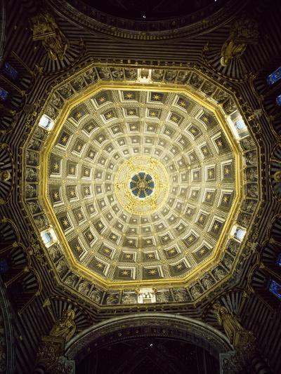 View of Dome, Cathedral of St Mary of Assumption, Siena, Tuscany, Italy, 12th-17th Century--Giclee Print