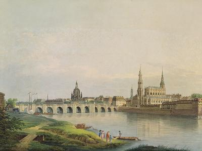 View of Dresden from the Western Part of the New Town-Gottlob Thormeyer-Giclee Print