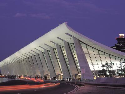 View of Dulles Airport in Virginia-Richard Nowitz-Photographic Print