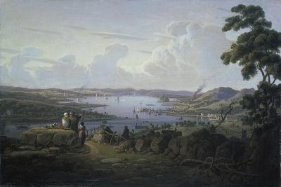 View of Dunbarton and the River Clyde, 1817-Robert Salmon-Giclee Print