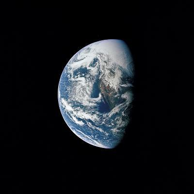 View of Earth Taken from the Apollo 13 Spacecraft-Stocktrek Images-Photographic Print