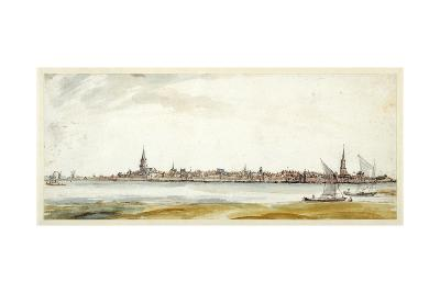 View of Emmerich, Late 17th Century--Giclee Print