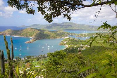 View of English Harbour from Shirley Heights-Frank Fell-Photographic Print