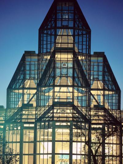 View of Exterior of National Gallery in Ontario, Canada--Photographic Print