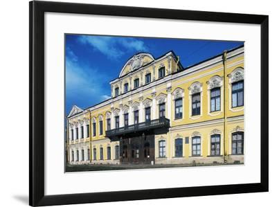 View of Facade, Sheremetev Palace--Framed Giclee Print