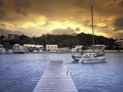 View of Flatts Village, Bermuda, Caribbean-Robin Hill-Photographic Print