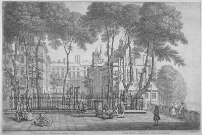 View of Fountain Court, Middle Temple, City of London, 1752-Henry Fletcher-Giclee Print