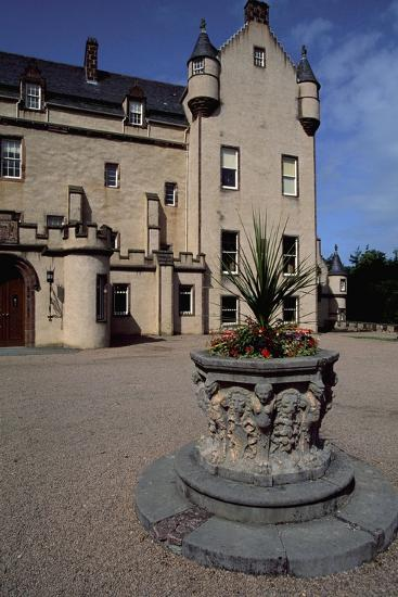 View of Fyvie Castle, Aberdeenshire. Scotland, 13th-19th Century--Giclee Print