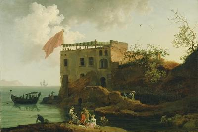 View of Gaiola, c.1770-90-Pierre Jacques Volaire-Giclee Print