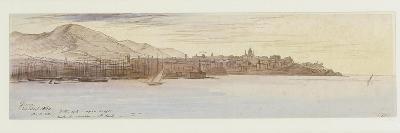 View of Genoa, 1864-Edward Lear-Giclee Print