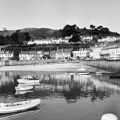 View of Gorey Harbour on the Island of Jersey, 1965-Staff-Photographic Print