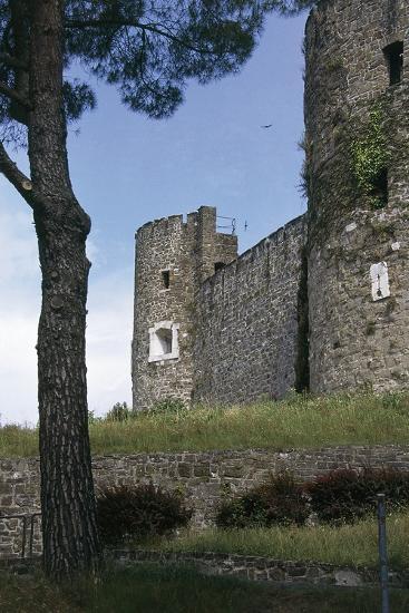 View of Gorizia Castle, 11th Century, Gorizia, Friuli-Venezia Giulia, Italy--Photographic Print