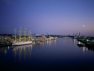 View of Gothenburg Harbour, Sweden--Photographic Print