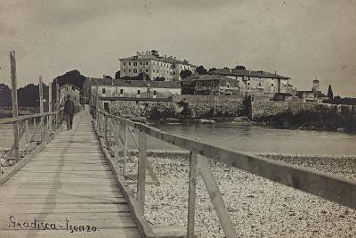 View of Gradisca on the River Isonzo--Photographic Print