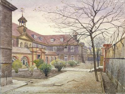 View of Grey Coat Hospital, Greycoat Place, Westminster, London, 1886-John Crowther-Giclee Print