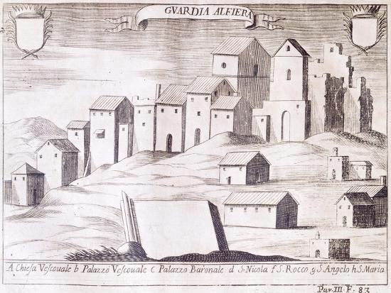 View of Guardialfiera, Italy--Giclee Print