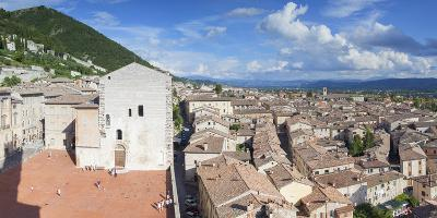 View of Gubbio, Umbria, Italy-Ian Trower-Photographic Print