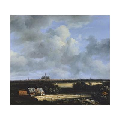 View of Haarlem, C.1670-Jacob Isaaksz Ruisdael-Giclee Print