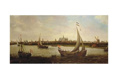 View of Haarlem from the North-Hendrick Cornelisz^ Vroom-Giclee Print