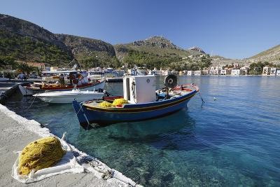 View of Harbour, Kastellorizo (Meis), Dodecanese, Greek Islands, Greece, Europe-Stuart Black-Photographic Print