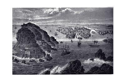 View of Helsingfors, Ca 1855--Giclee Print