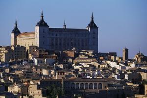 View of Historic Centre and Alcazar of Toledo (Unesco World Heritage List, 1986), Castile, Spain