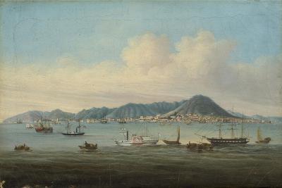 View of Hong Kong, 1850--Giclee Print