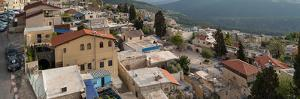 View of houses in a city, Safed (Zfat), Galilee, Israel